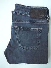 DIESEL LOUVELY JEANS WOMEN'S W30 L30 STRETCH BOOTCUT WASH 008LA BLUE LEVg431 #