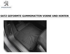 Original Peugeot 308 T9 Serie 2 Gummimatten Fußmatten Satz 4 tlg 1609853080