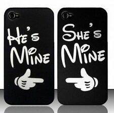 For iPhone & Samsung Love Romantic Valentine Gift Couple Hard Back Case Cover