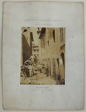 Photo - Adolphe Terris - Rénovation de la vieille Ville de Marseille - 1862 -