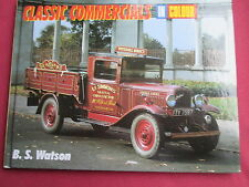 Classic Commercials in colour B S Watson 2000 HB transport book