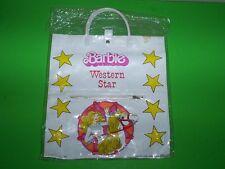 "New Vintage 1982 Tara Toy Corp. Barbie Western Star Purse/Handbag Retro 12""x11"""