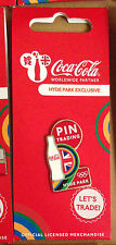 LONDON 2012 OLYMPICS COCA COLA BOTTLE HYDE PARK EXCLUSIVE PIN