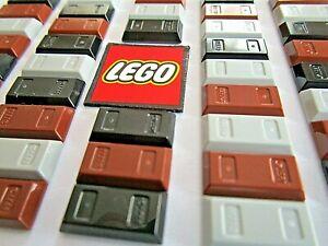 LEGO 1x2 Ingot - Metal Bars - Choose Colour (Packs of 8) Design ID 13954, 99563