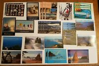Vintage mixed Lot of 30 Washington State Coast Beach Ocean Shore Postcards