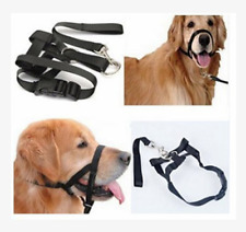 Adjustable Pet Dog Mask Anti Bark Bite Mesh Mouth Muzzle Grooming Stop Chewing G