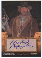 Terminator Salvation Auto Card Michael Papajohn