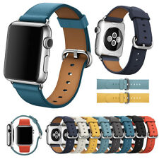 Leather Watch Strap Bracelet For Apple Watch Band iWatch 5 4 3 2 1 38/40/42/44MM