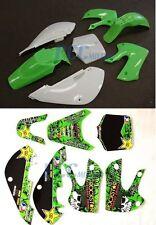 METAL MULISHA DECALS STICKER & PLASTIC KIT FOR KAWASAKI KLX110 110 KX65 M DE66+