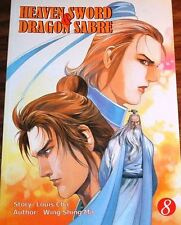 HEAVEN SWORD & DRAGON SABRE VOLUME 8  (ComicsOne 2003 Manhua Manga ~ Louis Cha)
