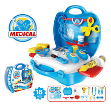 Doctor Toys Set for Child Kids Simulation Medicine Box Nurse Play Playset
