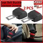 2Pcs Car Safety Seat Belt Buckle Extension Universal Vehicle Extender Clip USA