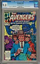 Avengers #239 CGC 9.8 David Letterman app