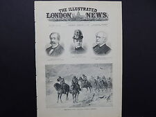 Illustrated London News Cover S8#11 Feb 1888 Armies of the Continent