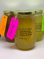 Raw Honey, Arizona assorted raw honey Set, Glass Jars 16 oz x 3 (1800 g)