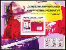 Guinea 2009 Scout Pfadfinder, Mi.7078: Bl.1772B UNgezähnt MNH
