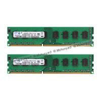 8GB 2X 4GB DDR3-1600 For Samsung PC3-12800 Non-ECC 240pin DIMM Desktop Memory