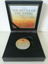 Guernsey 2016 Proof £5 coin Anniversary of the Battle of the Somme