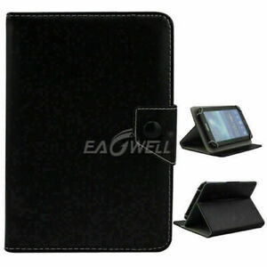 """Folio Leather Case stand Cover Fits Universal Android Tablet 7"""" 8"""" 9"""" 10"""" -Inch"""