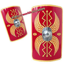 """Fully Functional 42"""" Medieval Roman Armour Scutum Shield"""