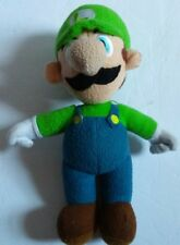 Super Mario Bros Luigi Plush Doll Stuffed Toy 10 inch