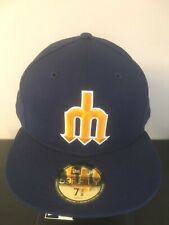 Seattle Mariners Cooperstown New Era 59fifty Fitted 5950 Cap Hat