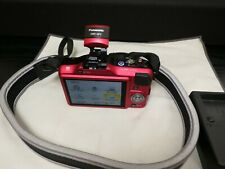 Panasonic LUMIX DMC-GF3 12.1MP Digital Camera m4/3 - Red (Body Only) USED
