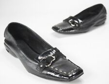 Cole Haan Air Bronte Moc Women's Black Leather Flats Size 8 (AA) $175