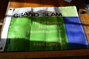 Fred Couples Signed Grand Slam Golf Flag TPC of Boston GREAT COLLECTABLE