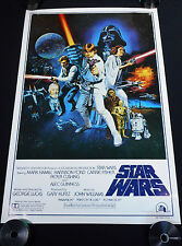 STAR WARS 1977 * STYLE-C 27x41 BOOTLEG ONE SHEET MOVIE POSTER C 10 MINT ROLLED!