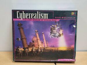 BGI Cyberealism The Lost World of Chayan Khoi -Taj Mahal Oasis - 513 pcs Puzzle
