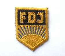 East german DDR FDJ Aufnäher Patch für Uniform - Jacke Freie Deutsche Jugend