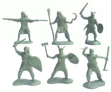 Toy soldiers Gauls warriors Rubberized plastic 57-60mm 6pcs