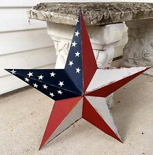 Primitive Metal Barn Star Americana 18 inch Country Rustic Farm Decor