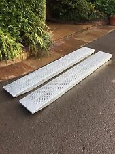 Ifor Williams 8 Feet Trailer Ramps Brand New Unused Combined Weight 3000kg