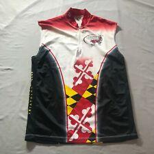 Hidden Bay Annapolis Triathlon Club Iron Crabs 1/4 Zip Cycling Jersey Shirt
