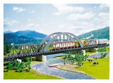 Faller 222583 pista n arco puente con 2 vorflutbrücken kit nuevo embalaje original