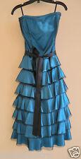 Le Château Turquoise Very Beautiful Dress Sz M $299
