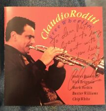 CLAUDIO RODITI  Free Wheelin' The Music Of Lee Morgan CD AUTOGRAPHED
