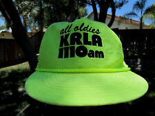 RARE VTG RADIO STATION  KRLA ALL OLDIES 1110 AM  LOS ANGELES CA 1970'S HAT
