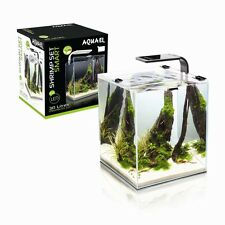 SHRIMP SET SMART LED 30 BLACK AQUAEL CARIDINE PESCI PIANTE ACQUARIO COMPLETO