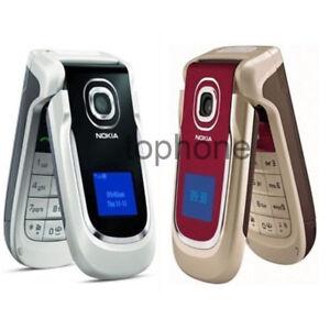 Nokia 2760 Red Black UNLOCKED Flip Bluetooth MP3 Player FM Radio Cell Phone