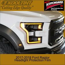 Headlight Protection Film by 3M for a 2017 2018 Ford Raptor
