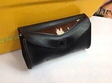 Harley Road King Heritage Springer Leather Windshield Bag Moo-Glide Vintage