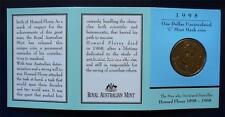 1998 LORD HOWARD FLOREY BIRTH CENTENARY One Dollar Uncirculated Coin ( C )