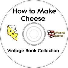 How To Make Cheese Vintage Book Collection on CD   - 5 Books