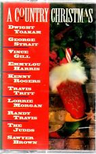 A COUNTRY CHRISTMAS: Vince Gill, Judds, Travis Tritt & Others - Sealed Cassette