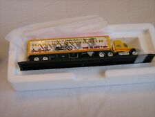 """Matchbox Collectibles 1948 HD 74 OHV-Twin """"Panhead"""" Tractor Trailer 1:87"""