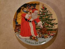 Spode Cookies For Santa Christmas Tree Plate # 53324-A9
