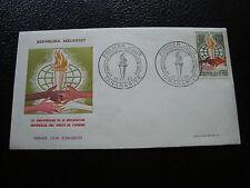 MADAGASCAR - enveloppe 1er jour 10/12/1963 (droits de l homme) (cy53) (A)